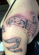 Photos tatouages pictures tattoos Tattoo music