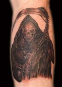 Photos tatouages pictures tattoos 174 Mania tattoo.com tattoo faucheuse grim reaper