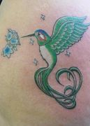 Photos tatouages pictures tattoos Z605 Mania tattoo.com tattoo colibri hummingbird