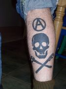 Photos tatouages pictures tattoos 19 Mania tattoo.com tattoo anarchiste