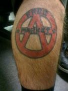 Photos tatouages pictures tattoos 24 Mania tattoo.com tattoo anarchiste