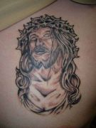Photos tatouages pictures tattoos 29 Mania tattoo.com tattoo jesus