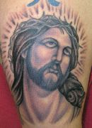 Photos tatouages pictures tattoos 58 Mania tattoo.com tattoo jesus