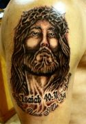 Photos tatouages pictures tattoos 85 Mania tattoo.com tattoo jesus