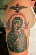 Photos tatouages pictures tattoos 35 Mania tattoo.com tattoo vierge marie virgin mary