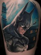 Photos tatouages pictures tattoos 36 Mania tattoo.com Tattoo batman