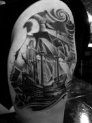 Photos tatouages pictures tattoos 32 Mania tattoo.com Tattoo bateau boat