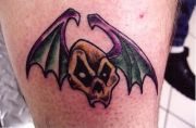 Photos tatouages pictures tattoos 38 Mania tattoo.com Tattoo chauve souris bat