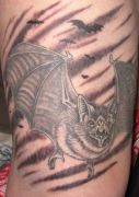 Photos tatouages pictures tattoos 39 Mania tattoo.com Tattoo chauve souris bat