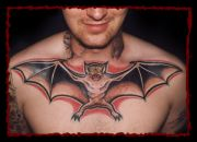 Photos tatouages pictures tattoos 73 Mania tattoo.com Tattoo chauve souris bat