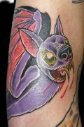 Photos tatouages pictures tattoos 79 Mania tattoo.com Tattoo chauve souris bat