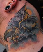 Photos tatouages pictures tattoos 68 Mania tattoo.com Tattoo chauve souris bat