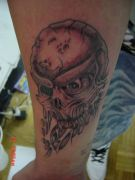 Photos tatouages pictures tattoos 81 Mania tattoo.com Tattoo crane skull