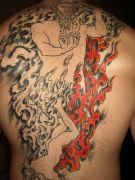 Photos tatouages pictures tattoos 10 Mania tattoo.com Tattoo flamme flame