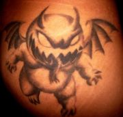 Photos tatouages pictures tattoos 17 Mania tattoo.com Tattoo gargouille gargoyle