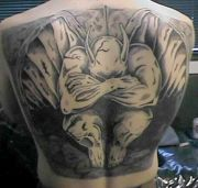 Photos tatouages pictures tattoos 85 Mania tattoo.com Tattoo gargouille gargoyle