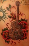 Photos tatouages pictures tattoos 39 Mania tattoo.com Tattoo guitar