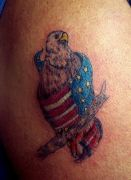 Photos tatouages pictures tattoos 124 Mania tattoo.com Tattoo patriotique patriotic