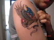Photos tatouages pictures tattoos 17 Mania tattoo.com Tattoo patriotique patriotic