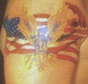 Photos tatouages pictures tattoos 22 Mania tattoo.com Tattoo patriotique patriotic