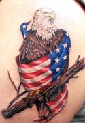 Photos tatouages pictures tattoos 29 Mania tattoo.com Tattoo patriotique patriotic