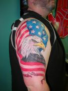 Photos tatouages pictures tattoos 59 Mania tattoo.com Tattoo patriotique patriotic