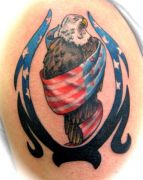 Photos tatouages pictures tattoos 60 Mania tattoo.com Tattoo patriotique patriotic