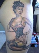 Photos tatouages pictures tattoos 32 Mania tattoo.com Tattoo pin up girl
