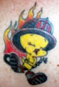 Photos tatouages pictures tattoos 173 Mania tattoo.com Tattoo pompier fire firefighters