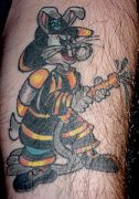 Photos tatouages pictures tattoos 174 Mania tattoo.com Tattoo pompier fire firefighters