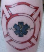 Photos tatouages pictures tattoos 186 Mania tattoo.com Tattoo pompier fire firefighters