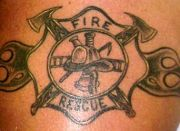 Photos tatouages pictures tattoos 40 Mania tattoo.com Tattoo pompier fire firefighters