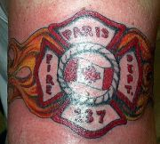 Photos tatouages pictures tattoos 45 Mania tattoo.com Tattoo pompier fire firefighters