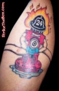 Photos tatouages pictures tattoos 82 Mania tattoo.com Tattoo pompier fire firefighters