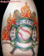 Photos tatouages pictures tattoos 93 Mania tattoo.com Tattoo pompier fire firefighters
