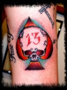 Photos tatouages pictures tattoos 15 Mania tattoo.com Tattoo tete de mort head of death